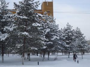 Зима в Ургале.
